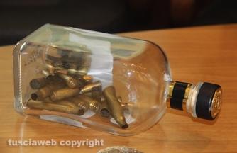 Bassano Romano - Sequestrata piantagione di droga e deposito di armi - Le munizioni