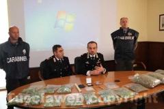 Il maggiore Trombetta e il luogotenente Fazi illustrano i dettagli dell'operazione Green House