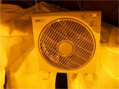 Uno dei ventilatori della serra