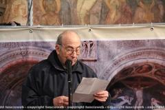 Due affreschi tornano alla luce a Santa Maria nuova - Don Angelo Gargiuli