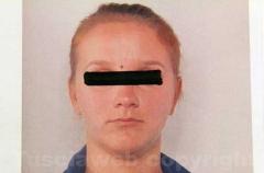 Una delle ragazze arrestate