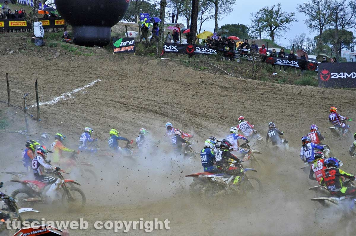 Sport - Motocross - Montevarchi - La partenza