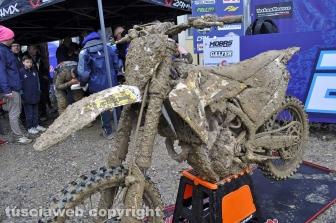 Sport - Motocross - Le moto dopo la gara