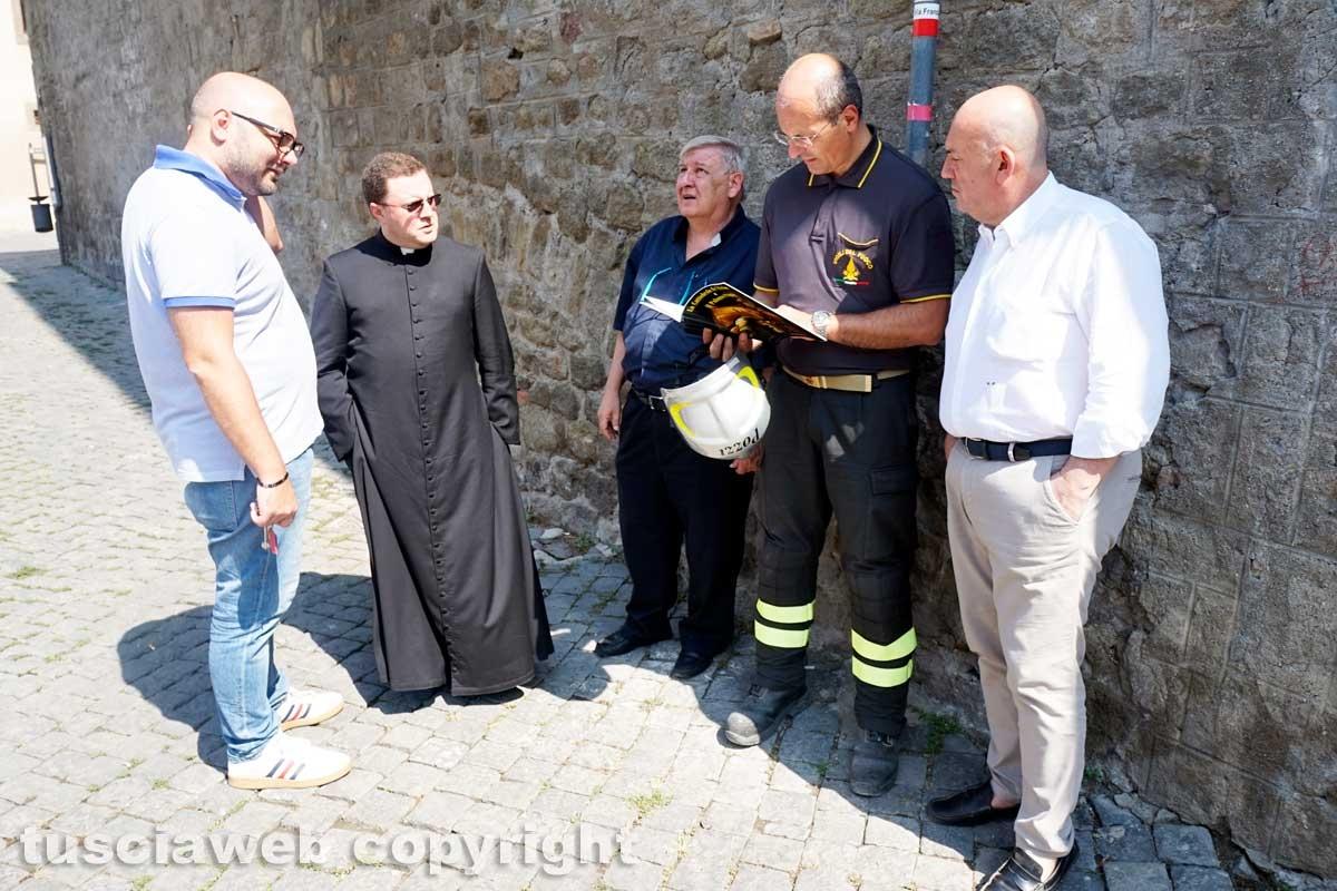 Duomo, la verifica dei pompieri