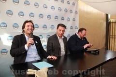 La presentazione dei candidati di Fratelli d\'Italia