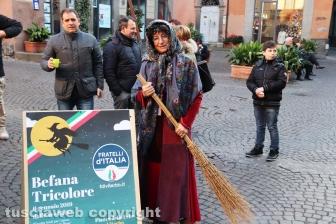 Viterbo - La Befana tricolore