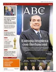 "\""L\'Europa si imbatte in Berlusconi\"""