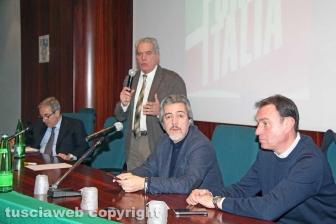 Viterbo - L'incontro alle Terme dei Papi con Maurizio Gasparri