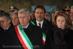 Viterbo - Elicottero precipitato - Il funerale di Lozzi e Calligaris