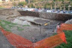 Viterbo -  Emergenze archeologiche a Valle Faul