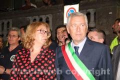 Il prefetto Scolamiero e il sindaco Michelini