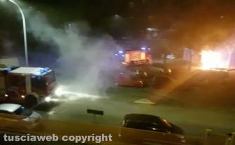 Viterbo - Esplosioni nella notte