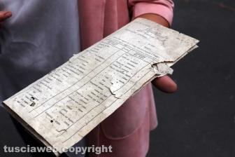 Viterbo - Ex Terme Inps - Un vecchio foglio