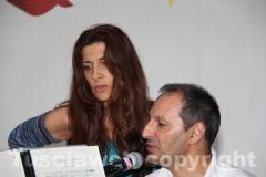 Laura Antonini e Luigi Gentile all\'accompagnamento musicale
