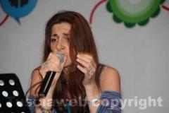 La cantante Laura Antonini