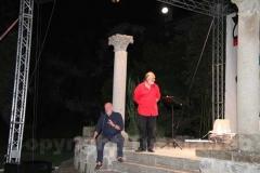 Toni Capuozzo e Vanni De Lucia al parco del Paradosso