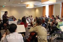 Los Angeles - Italian operafestival - Prova d\'orchestra
