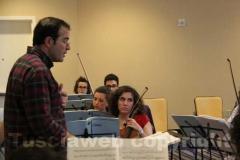 Los Angeles - Italian operafestival - Prova d'orchestra