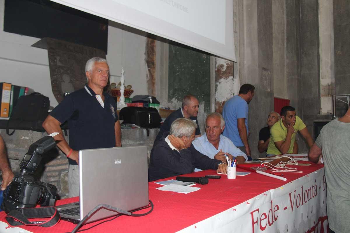 Facchini, l'incontro all'ex chiesa della Pace
