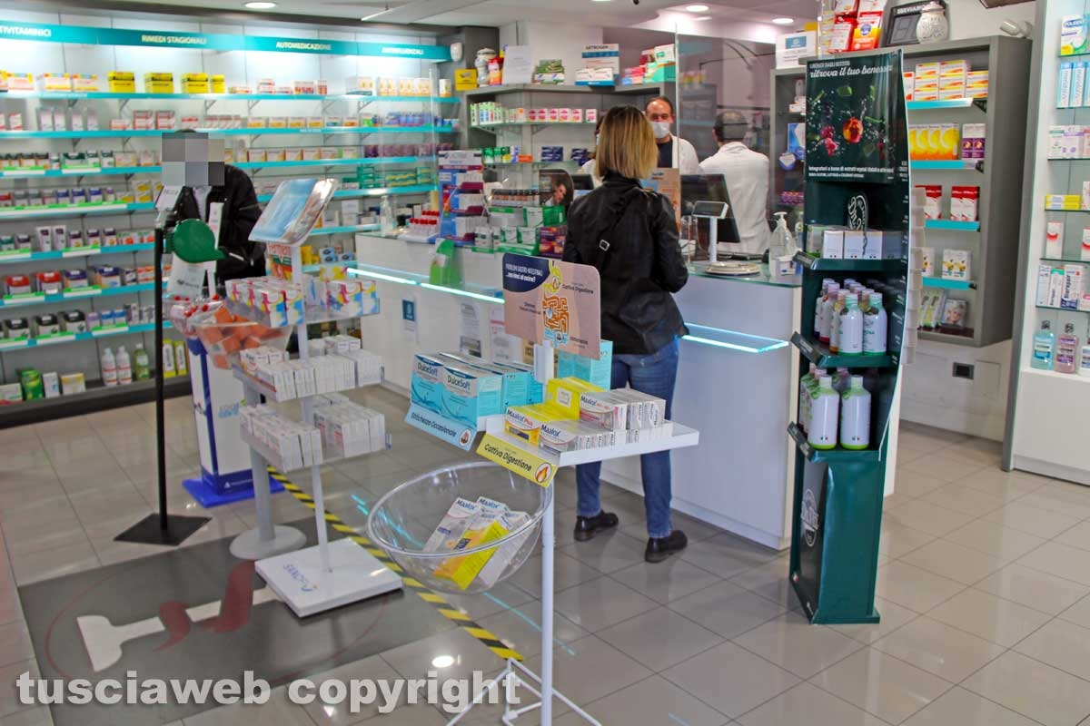 Viterbo - La farmacia Galiano