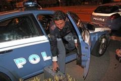 La polizia davanti alla procura