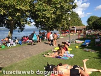 Lago di Bolsena - Ferragosto a Capodimonte