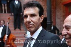 Il general consul of Italy Giuseppe Perrone