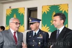 Il procuratore capo Alberto Pazienti e il comandante della forestale Paolo Di Girolamo