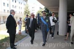 Il colonnello Occhipinti e il viceprefetto Tarricone