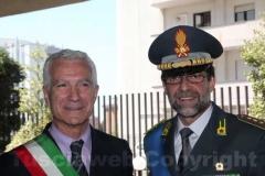 Il colonnello Occhipinti e il sindaco di Vetralla