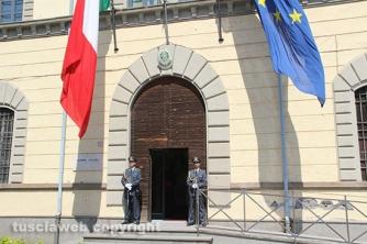Festa della finanza 2015 - La caserma Eudo Giulioli di piazza della Rocca