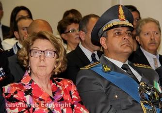 Festa della finanza 2015 - Il prefetto Scolamiero e il colonnello Amaturo