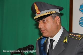 Festa della finanza 2015 - Il colonnello Alfonso Amaturo, comandante delle fiamme gialle viterbesi
