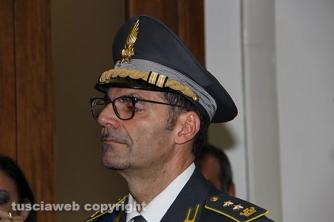 Festa della finanza 2015 - La consegna di encomi ed elogi ai finanzieri meritevoli - Il colonnello Domenico Costagliola, comandante del nucleo di polizia tributaria