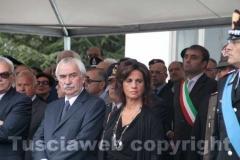 Il deputato Ugo Sposetti e la senatrice Laura Allegrini