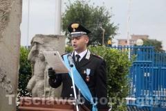 Il capitano della compagnia carabinieri di Viterbo Raffaele Gesmundo
