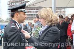 Il prefetto consegna le medaglie