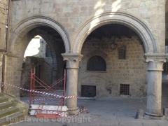 Viterbo -Festival delle luci e Sebastiano del Piombo -  Gli allestimenti