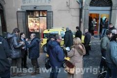 Filippo Rossi inaugura la sede di Viva Viterbo