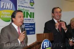 Fini con Claudio Taglia
