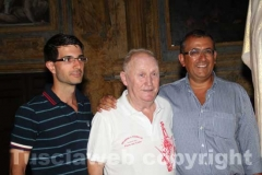 Contaldo Cesarini con l\'assessore Sabatini e il vicesindaco Contardo