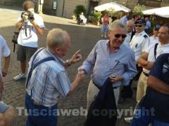 Contaldo Cesarini con il sindaco Michelini