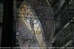 Macchina di santa Rosa - Fiore del cielo si veste di bianco e si illumina