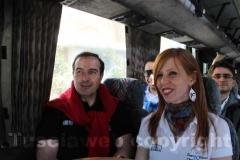 Il maestro Vignati e Valeria Monacelli