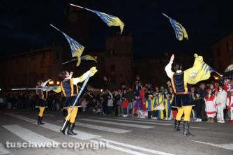 Bagnaia - Focarone - Il corteo storico