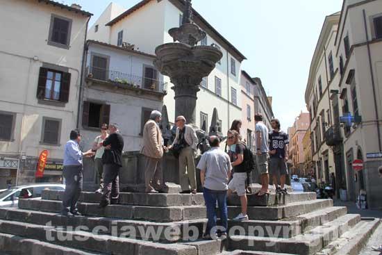 Fontana grande primo sopralluogo