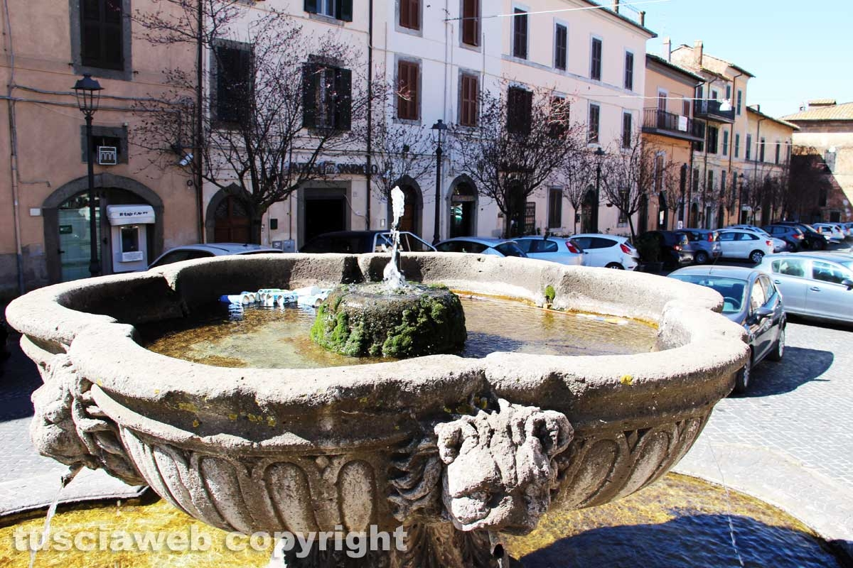 San Martino - La fontana di piazza Mariano Buratti