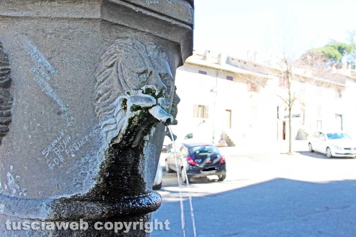 San Martino - La fontana a fuso di via Cadorna