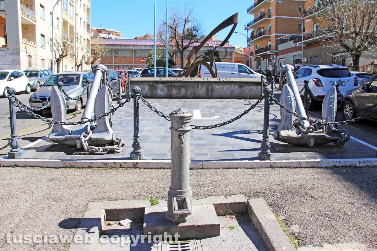 Viterbo - La fontana di piazza Vittorio Veneto