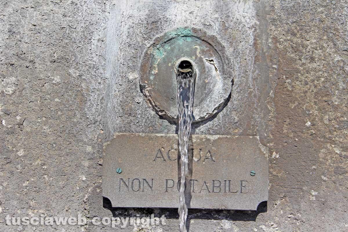 La fontana di Bagnaia